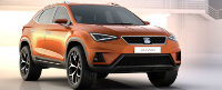 Seat Ateca 1.6TDi Ecomotive 'S' 5dr - CJ Tafft Ltd Leasing Deals